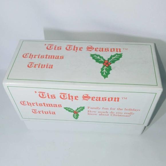 CHRISTMAS TRIVIA Game Xmas 1800 Question